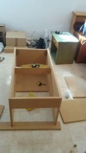 Montando con madera md