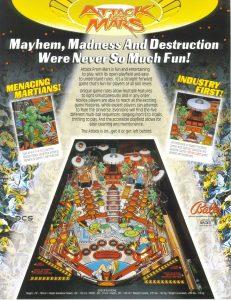 Attack from Mars (Bally 1995)