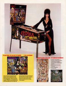 Elvira And The Party Monsters (Bally 1995)