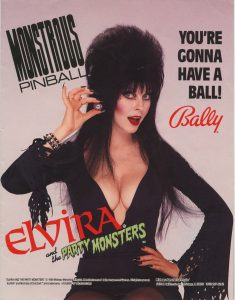 Elvira and the Party Monsters (Bally 1989)