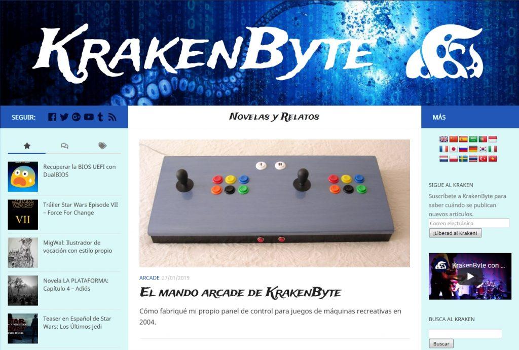 KrakenByte Kraken El Mando Arcade