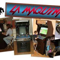 KrakenByte Kraken LA MAQUINA arcade machine cabinet intro